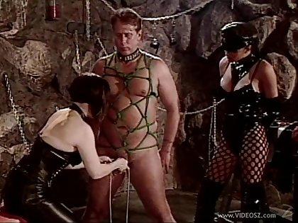 Sexy and hot slutties in nasty bondage and spanking femdom adventure