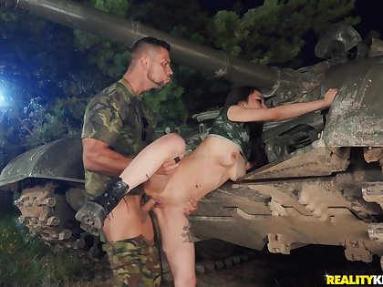 Jumping on a fat cock is the favorite sport of sexy Rae Lil Black