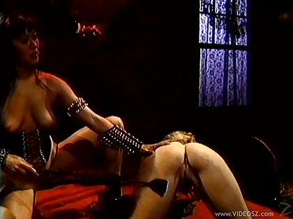 Asian babe in bondage enjoys domination & torture