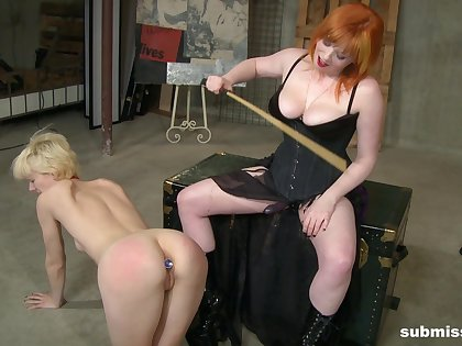 Lesbian BDSM is memorable and amazing for hot Goddess Starla