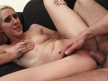 Sexy maidservant Cadence Lux anal porn video