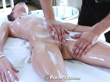 Undecorated knead with slender cowgirl Kacy Lane includes some good BJ