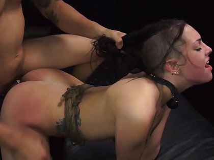 Cookie earns a ride home with rough sex